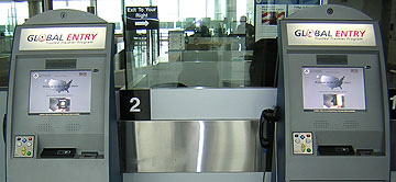 Global Entry Program Kiosks