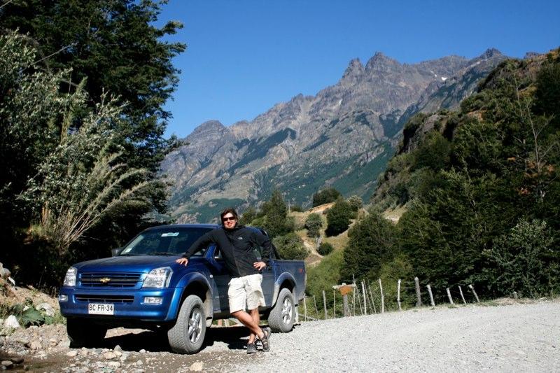 Jeff in Patagonia