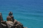 Amar overlooking the ocean. Copyright GapYearEscape.com