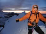 Felicity summiting Huyani in Potosi Bolivia. Copyright ThinkingNomads.com