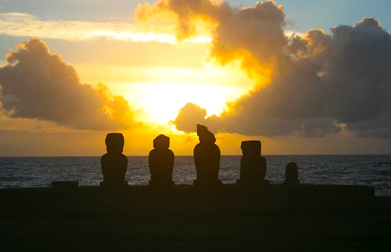 Career break, rtw blog on Easter Island