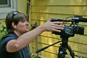 Jeff filming