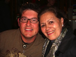 Gloria and I in Quito. Copyright CareerBreakSecrets.com