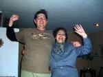 Gloria and I dancing.  Copyright CareerBreakSecrets.com