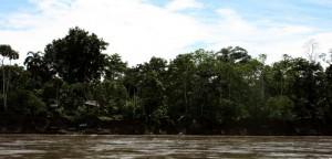 Napo River in the Amazon, Ecuador. Copyright CareerBreakSecrets.com