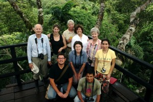 My travel group in the Amazon. Copyright CareerBreakSecrets.com