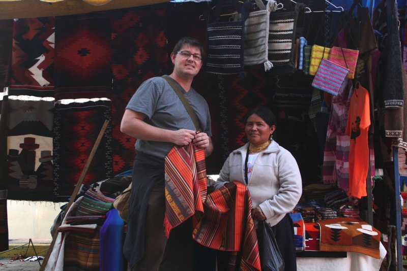 career breaks, career break travel, travel adventures in Ecuador, Otavalo Market