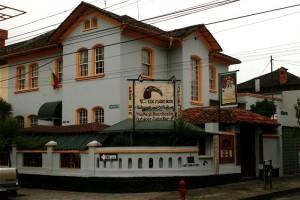 Magic Bean Cafe in Quito. Copyright CareerBreakSecrets.com