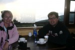 Noel and I on Pichincha mountain in Quito. Copyright CareerBreakSecrets.com