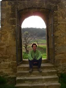 Craig on the Camino de Santiago, Spain. Copyright IndieTravelPodcast.com