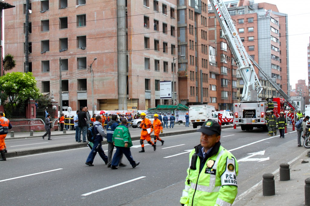 Bombing in Bogota of Caracol Radio