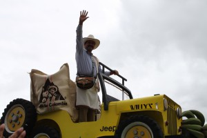THE Juan Valdez celebrating 50 years today. Copyright CareerBreakSecrets.com