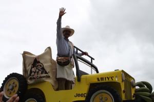 THE Juan Valdez celebrating his 50th birthday. Copyright CareerBreakSecrets.com
