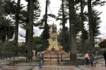 Park in central Cuenca. Copyright CareerBreakSecrets.com