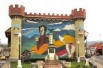 Simon Bolivar at the entrance to Loja. Copyright CareerBreakSecrets.com