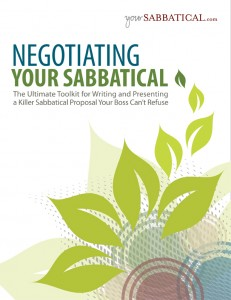 Negotiation Your Sabbatical