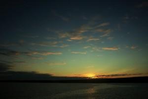 South Plaza Island sunset. Copyright CareerBreakSecrets.com