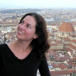 Lillie Marshall in Florence, Italy. Copyright AroundtheWorldL.com