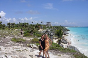 Globetrottergirls in Tulum, Mexico. Copyright GlobetrotterGirls.com