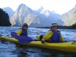 Kayaking in New Zealand. Copyright Emma and Fabien Tronche