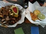 Barbeque, Arepas and Fresh Guacamole. Copyright CareerBreakSecrets.com
