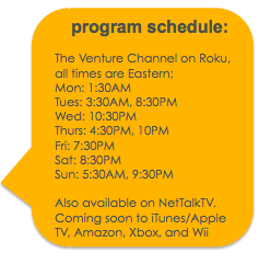 Career Break Travel Show Program Guide on Roku