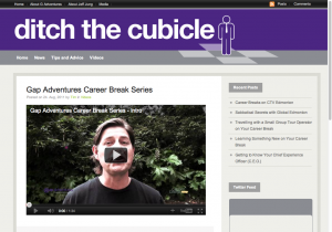 Ditch the Cubicle Career Break web series
